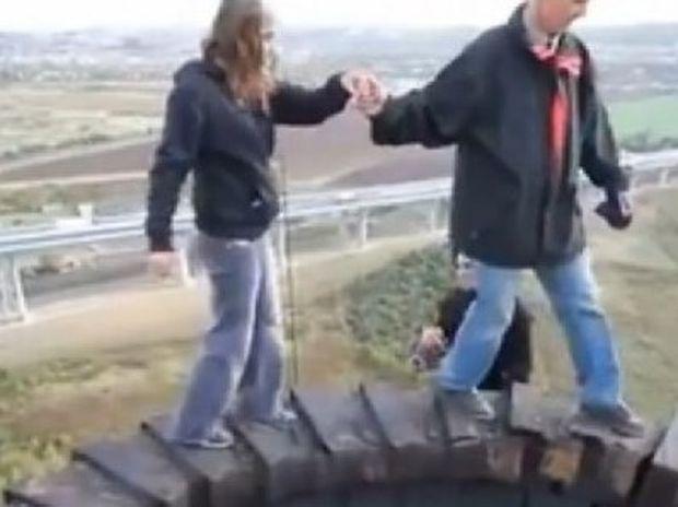 Εσείς θα περπατούσατε εκεί πάνω; (βίντεο)