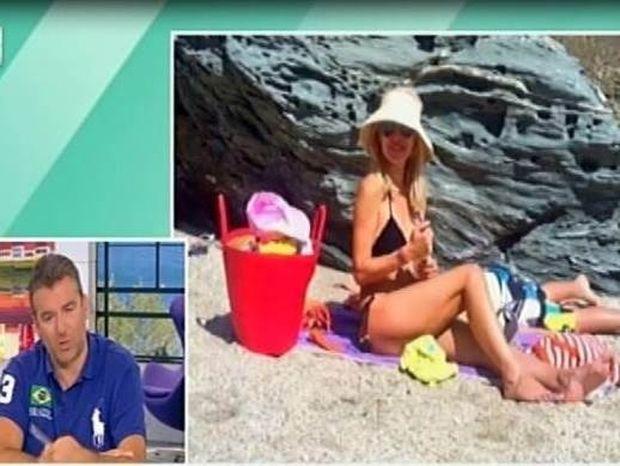 «Μια φωτογραφία της Μενεγάκη με μαγιό κοστίζει τρία με πέντε χιλιάδες ευρώ»!
