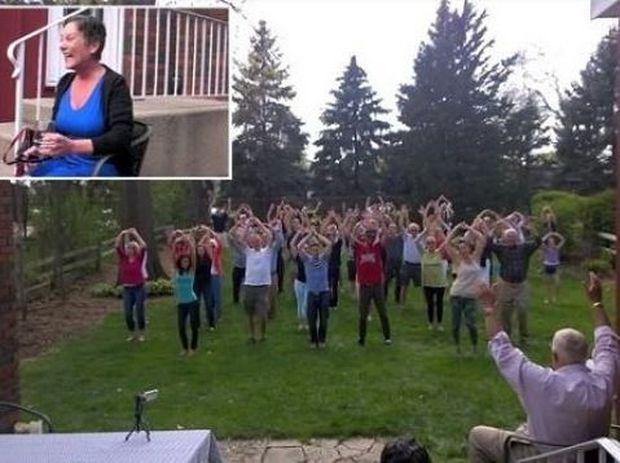 Συγκινητικό! Είχε καρκίνο κι η οικογένειά της,της επεφύλαξε κάτι μοναδικό! (βίντεο)