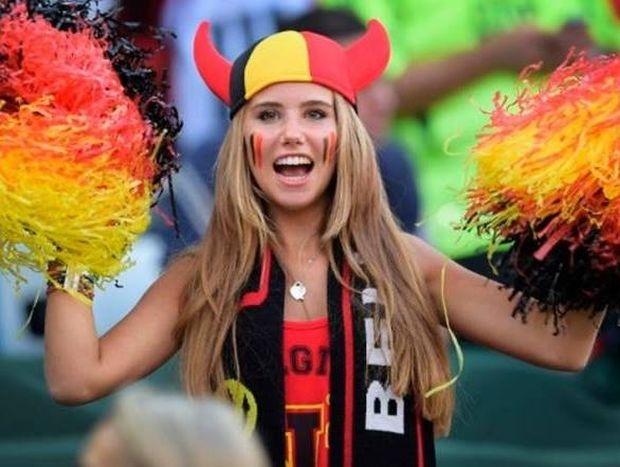 Μουντιάλ 2014: Ας πρόσεχε η Βελγίδα Μούσα (video+photos)
