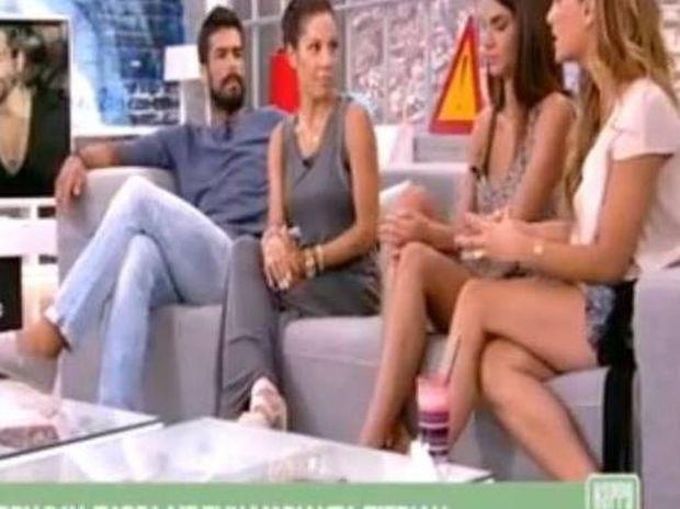 Η Τσολάκη έφερε σε δύσκολη θέση την Πιερίδη on air!