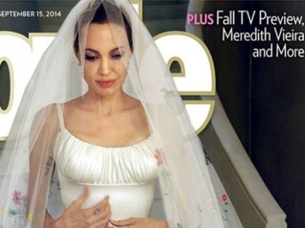 Pitt & Jolie: Οι φωτογραφίες του γάμου τους είναι εδώ! Δείτε το λιτό νυφικό της Αngelina