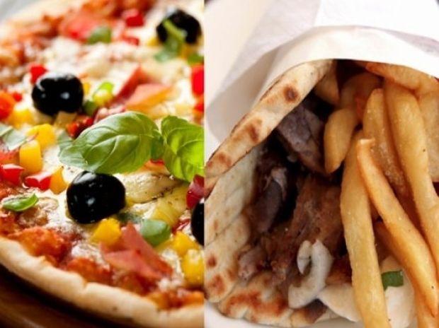 Πίτσα VS Σουβλάκι: Ποιο έχει περισσότερες θερμίδες;