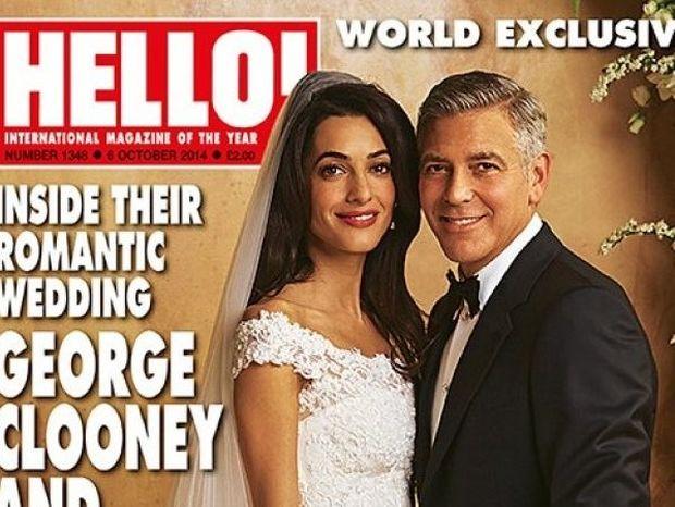 Γάμος Clooney- Alamuddin: Δείτε για πρώτη φορά το νυφικό της Amal!