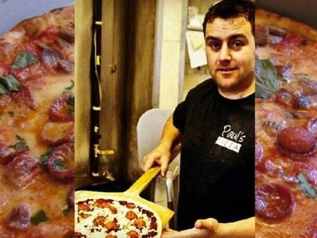 Αυτή η πίτσα μπορεί να σας... αφήσει στον τόπο σε δευτερόλεπτα! (video)
