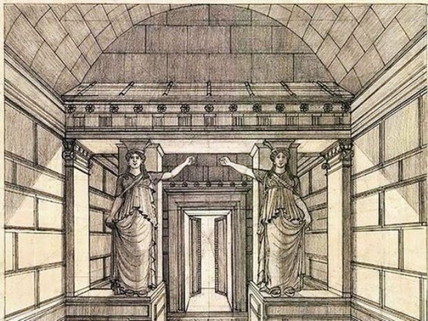 Αστρολογική επικαιρότητα, 11/10: Εντυπωσιακό σχέδιο αναπαράστασης της Πύλης των Καρυάτιδων της Αμφίπολης