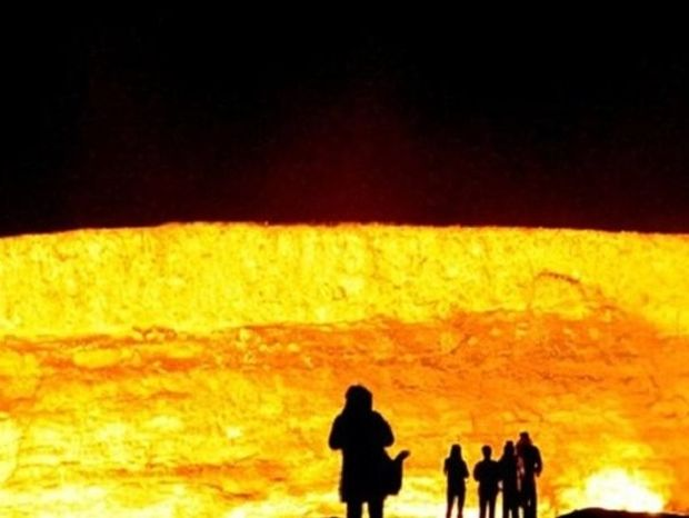 Δείτε την «πύλη της κολάσεως» στο Τουρκμενιστάν!