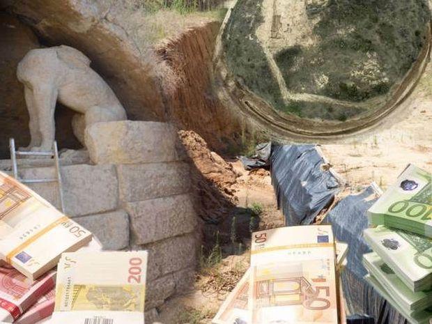 Αυτό είναι το κόστος των ανασκαφών στην Αμφίπολη