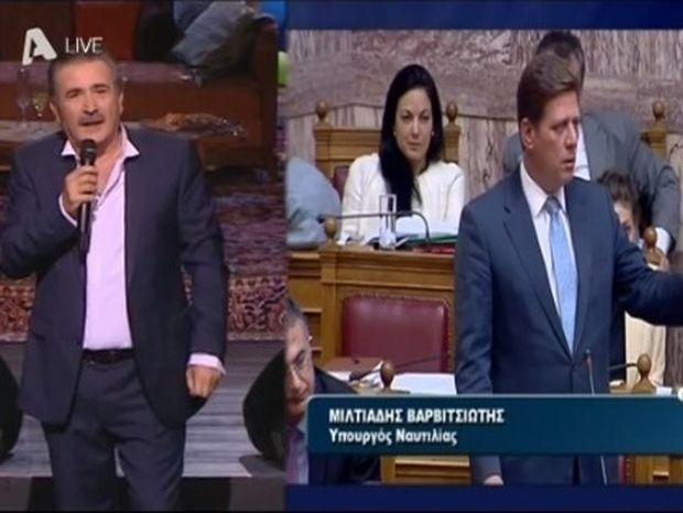Ζώδια και αστέρια: «Την είπε» χοντρά ο Λαζόπουλος σε Βαρβιτσιώτη