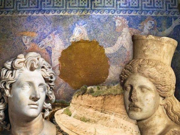 Αμφίπολη: Πώς το κεφάλι της Σφίγγας δείχνει Μέγα Αλέξανδρο