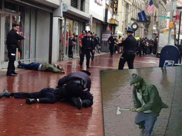 Νέα Υόρκη: Τζιχαντιστής ο δράστης της επίθεσης με το τσεκούρι (pics+video)