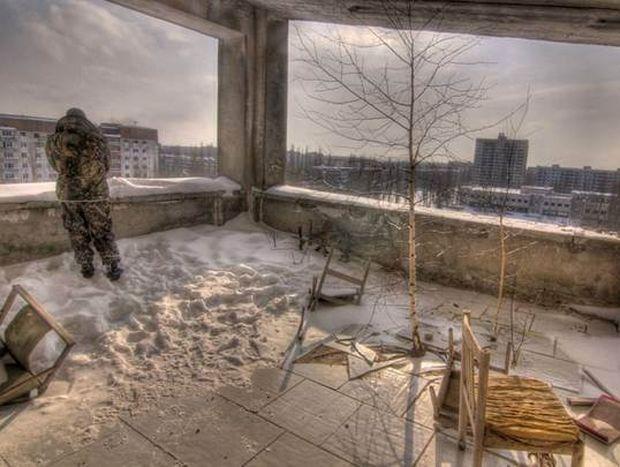 Στην πόλη – φάντασμα της Ουκρανίας