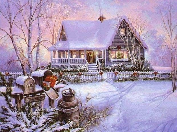 Υπέροχες χριστουγεννιάτικες κάρτες γεμάτες ζεστασιά!