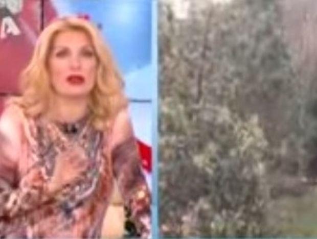 Ζώδια και αστέρια: Ελένη Μενεγάκη - Και με κρύα και με χιόνια… πρώτη!
