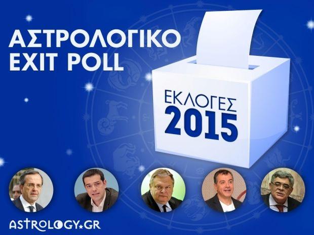Εκλογές 2015: Αστρολογικό exit poll