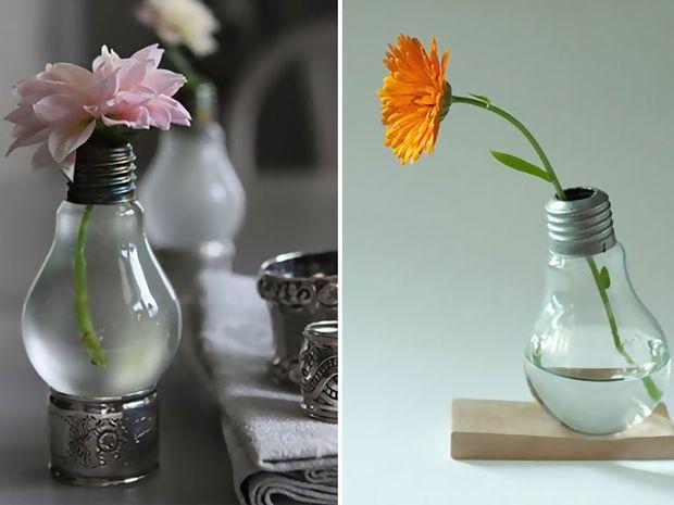 Ιδέες που σας δείχνουν πως μπορείτε να χρησιμοποιήσετε μια παλιά λάμπα