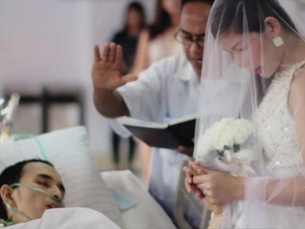 Παντρεύτηκαν λίγο πριν αυτός «φύγει» - Μια συγκινητική ιστορία αγάπης