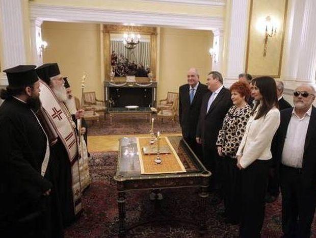 Αυτοί είναι οι υπουργοί που ορκίστηκαν με θρησκευτικό όρκο (Vid)