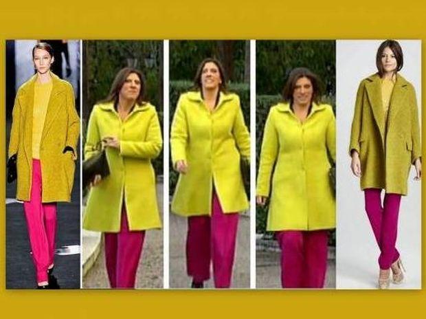 Κι όμως, η εμφάνιση της Κωνσταντοπούλου είναι fashion πρόταση πασίγνωστης σχεδιάστριας το 2012!