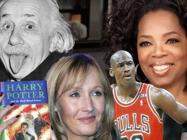 9 διάσημοι που κάποτε θεωρήθηκαν πολύ αποτυχημένοι!