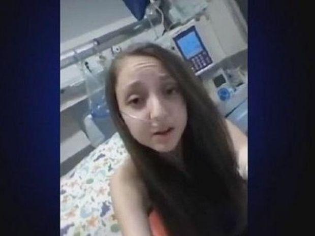 Ανατριχιαστικό: 14χρονο κορίτσι ζητά ευθανασία (βίντεο και εικόνες)