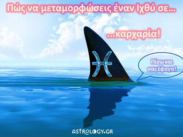 Από Ιχθύς… σε καρχαρία!