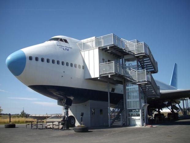 Όταν ένα αεροπλάνο Boeing γίνεται ένα υπέροχο ξενοδοχείο! (εικόνες)