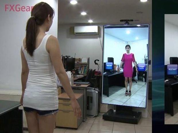 Έρχεται ο ψηφιακός καθρέφτης! Θα δοκιμάζετε όσα ρούχα θέλετε χωρίς κόπο! (Βίντεο)