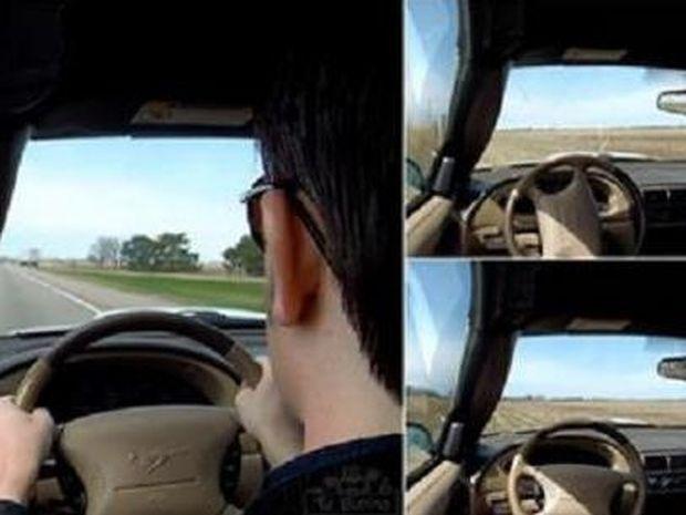 Λιποθύμησε ενώ οδηγούσε και η κάμερα κατέγραψε τι συνέβη… Βίντεο που σοκάρει!