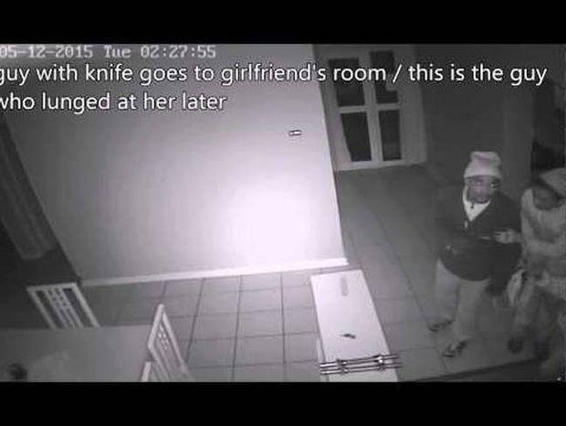 Γυναίκα τρέπει σε φυγή ληστές, ενώ ο άνδρας της κοιμάται (video)