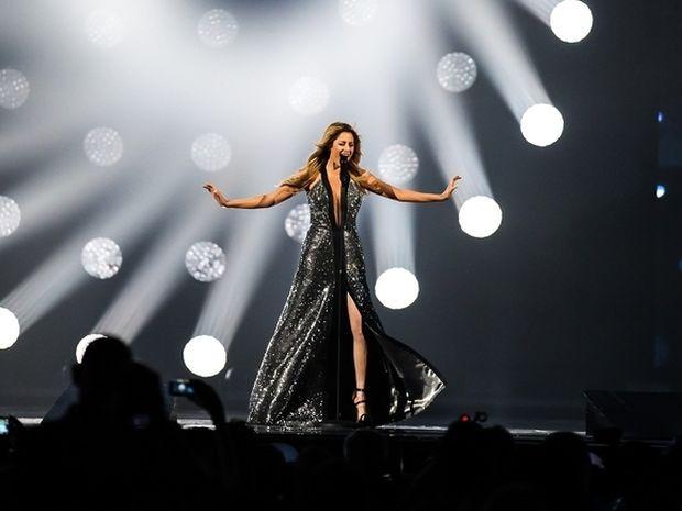 Eurovision 2015: Ελλάδα: Καθήλωσε το στάδιο της Βιέννης με την ερμηνεία της η Κυριάκου!