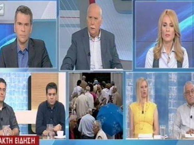 Ανδρέας Παπαδόπουλος - Ραχήλ Μακρή - Απίστευτος καυγάς on air: «Ξεφτιλισμένη, σκουπίδι» (vid)