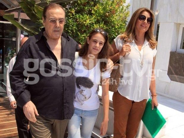 Ο Τόλης Βοσκόπουλος πήρε εξιτήριο από το Ιατρικό Κέντρο
