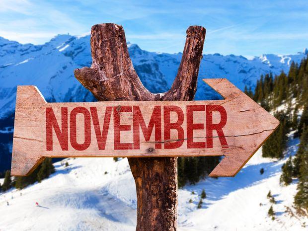 Ποια ζώδια έχουν σημαντικές ημερομηνίες το Νοέμβριο;