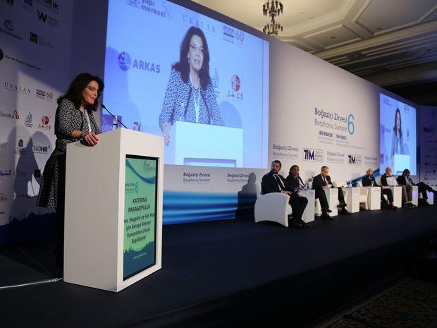 Κατερίνα Παναγοπούλου:«Ανάχωμα» στη φτώχεια και την αξιακή κρίση, Αθλητισμός και Ολυμπιακή Παιδεία»
