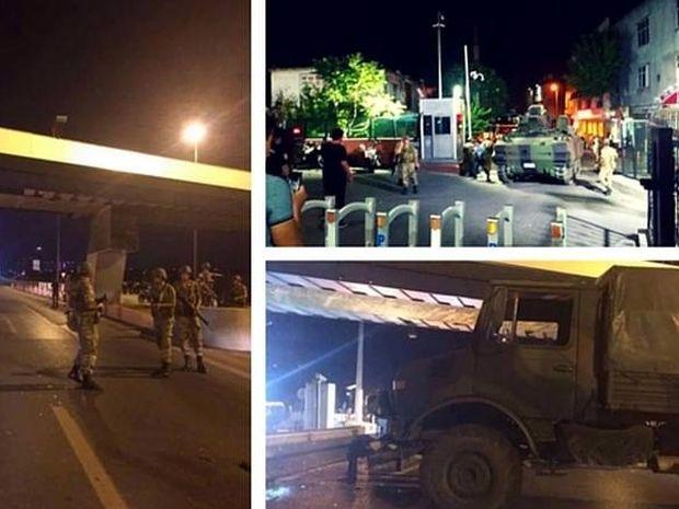 Φόβοι για πραξικόπημα στην Τουρκία - Άρματα μάχης στην Άγκυρα και την Πόλη (vid - pic)