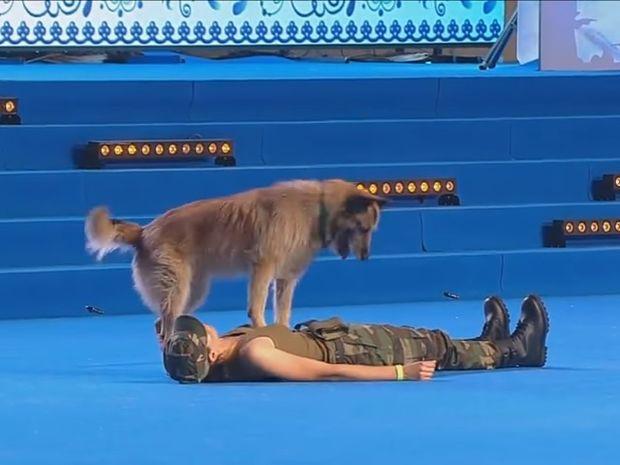 Δε θα πιστεύετε στα μάτια σας! Ο σκύλος κάνει τεχνητή αναπνοή! (video)