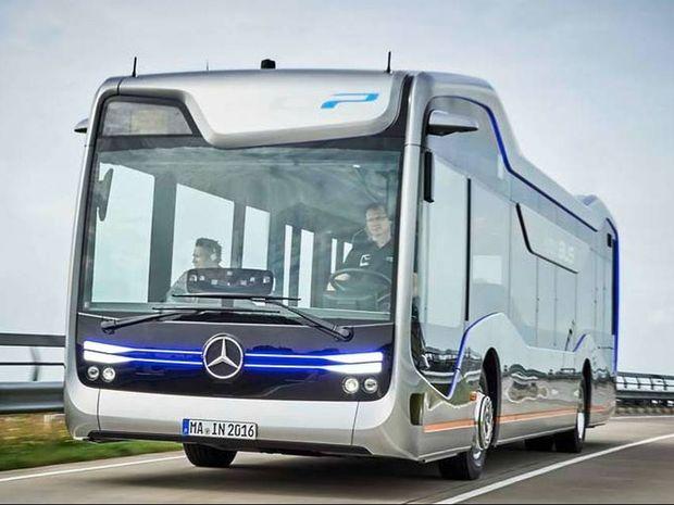 Τα αστικά λεωφορεία του μέλλοντος θα είναι σαν το future bus της mercedes