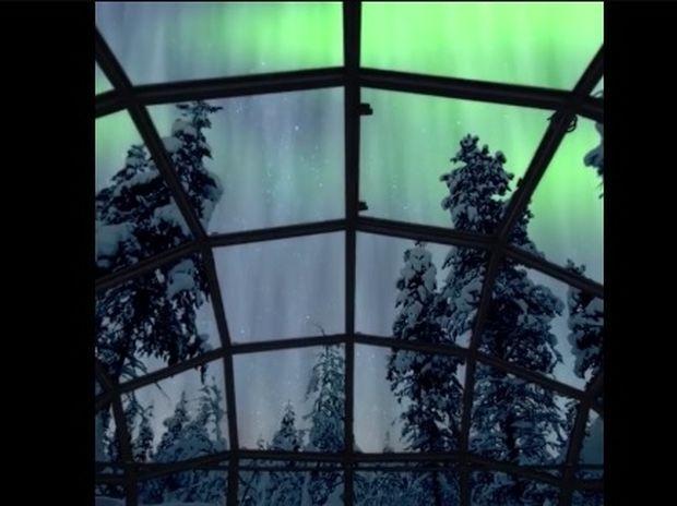 Μαγικό! Το ξενοδοχείο με τα γυάλινα igloo για να βλέπεις το Βόρειο Σέλας! (video)