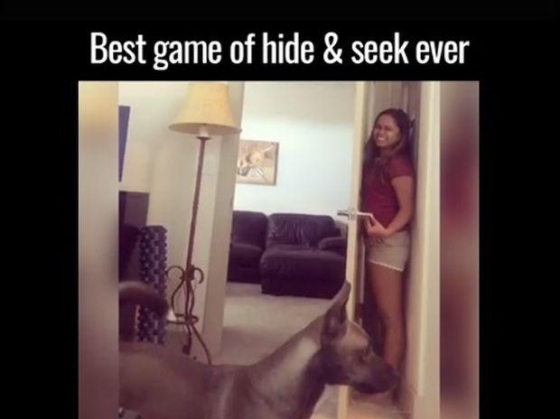 Το καλύτερο «κρυφτό» που έχετε δει ποτέ! (video)