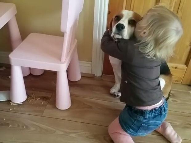Το κοριτσάκι που υπερασπίζεται το σκύλο της για μια ζημιά είναι ό,τι πιο γλυκό θα δείτε σήμερα!