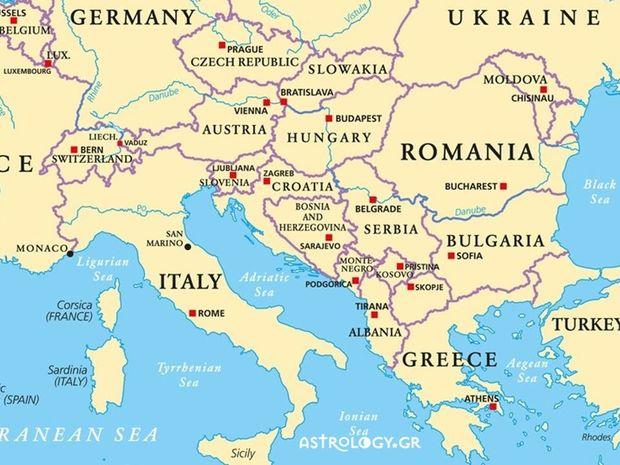 Τι λένε τα άστρα για τις εξελίξεις στα Βαλκάνια;
