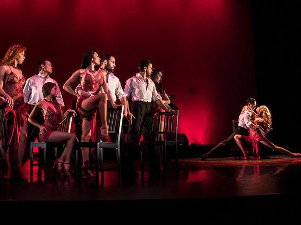 Το Tango Fire του German Cornejo στο Θέατρο Παλλάς