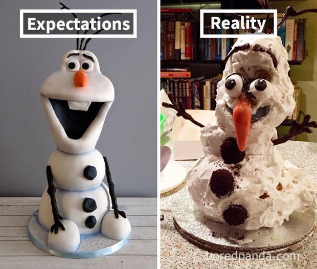 Προσπάθησαν να αντιγράψουν τούρτα αλλά...
