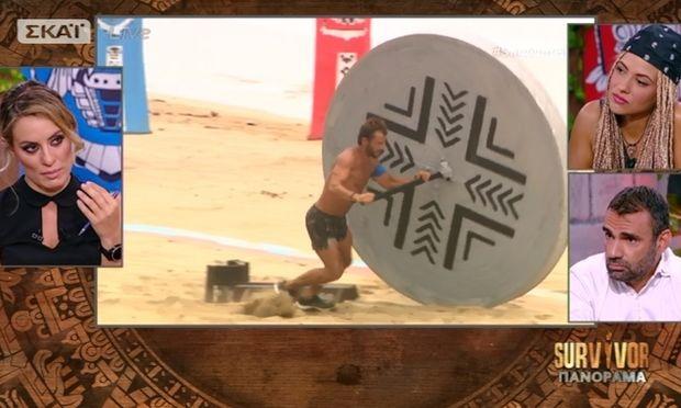 Survivor Πανόραμα: «Αδειάζει» ο Χούτος τον Ντάνο: «Είναι δυνατός παίχτης αλλά…»