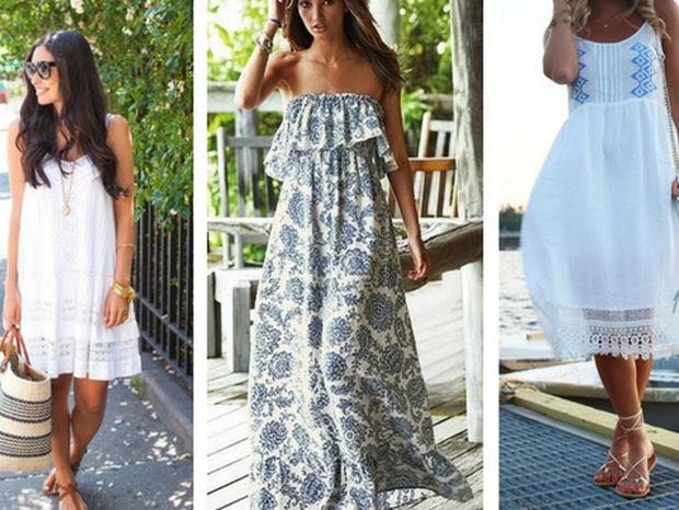Ιδέες για όμορφα καλοκαιρινά φορέματα για όλη την ημέρα