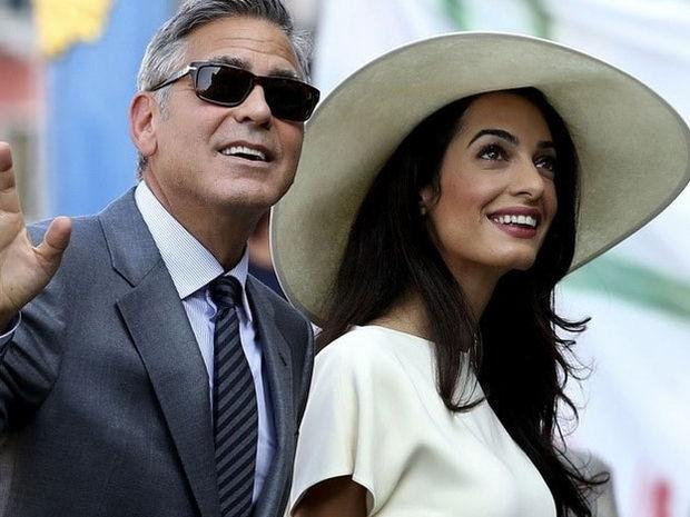 Amal Clooney έχεις γίνει λίγο κορμάρα ή είναι ιδέα μας;