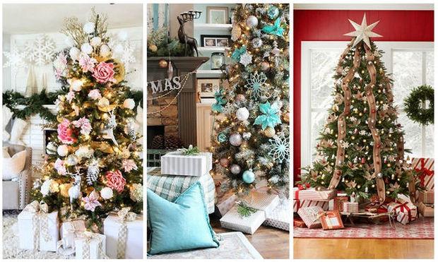 Πρωτότυπες, υπέροχες προτάσεις για τον στολισμό του Χριστουγεννιάτικου δέντρου σας