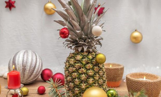 Ο ανανάς είναι το νέο χριστουγεννιάτικο δέντρο!