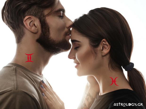 Πόσο ταιριάζει ο Ιχθύς με τον Δίδυμο;